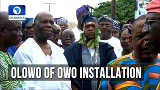 Ajibade Ogunoye Installed As 32nd Olowo Of Owo