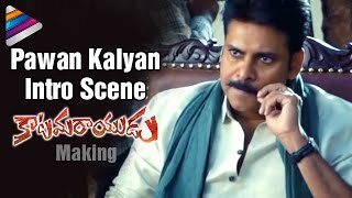 Pawan Kalyan Intro Scene | Katamarayudu Movie | Pawan Kalyan on The Sets of Katamarayudu