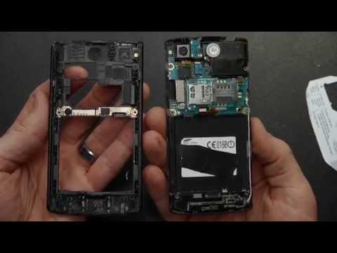 How To: Disassemble Take Apart Samsung Captivate i897 AT&T