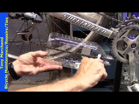 Best Homemade Bike Chain Cleaning Tool with no mess, easy to use, inexpensive