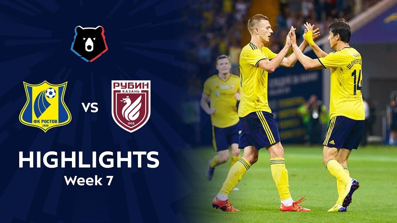 Highlights FC Rostov vs Rubin (2-1) | RPL 2019/20