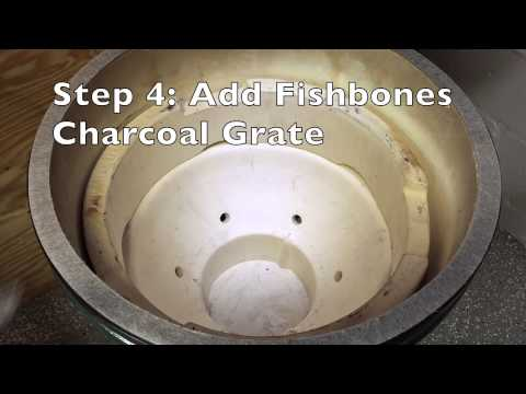 How To Install A Fishbones Charcoal Grate