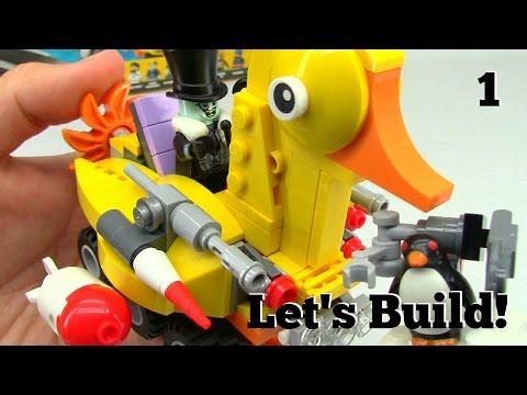THE LEGO BATMAN MOVIE: Batcave Break-in 70909 - Let's Build! Part 1
