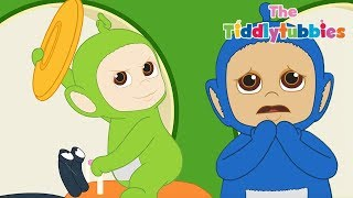 Teletubbies ★ NEW Tiddlytubbies 2D Series! ★ Episode 8: The Frisbee ★ Cartoons for Kids