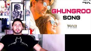 Ghungroo  Music Video Reaction  War  Hrithik Roshan Vaani Kapoor  Ft Arijit Singh Shilpa Rao