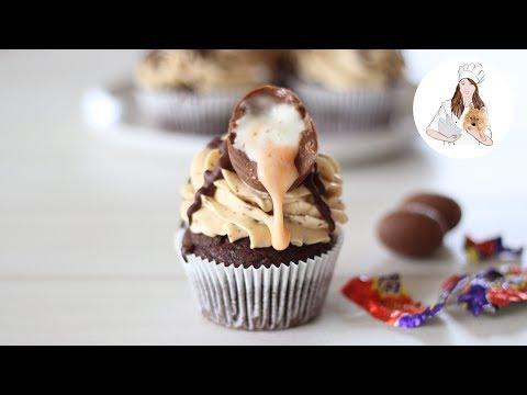 Cadbury Creme Egg Easter Cupcakes | Easter Cupcake Recipe