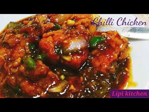 Chilli chicken Recipe in Hindi [easy Method] Indo Chinese chilli chicken Recipe|chickenchilli Recipe
