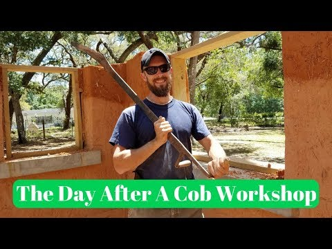 What Happens The Day After A Cob Workshop