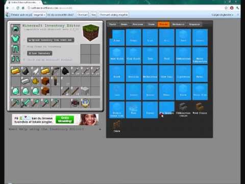 Minecraft - inv. editor