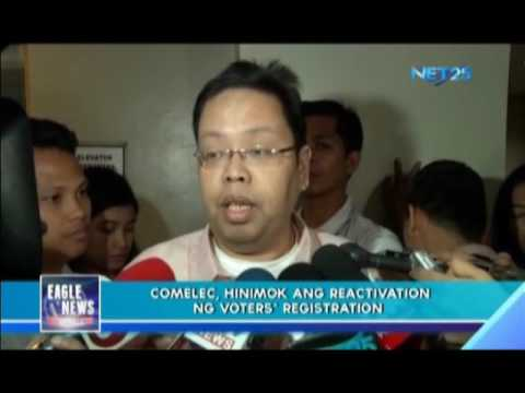 COMELEC to Public: Reactivate your registration records