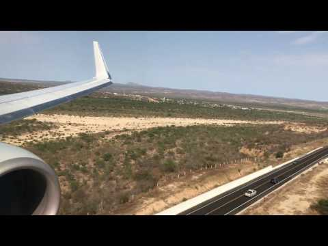 AMERICAN AIRLINES B737-800 LANDING INTO SAN JOSE CABO (SJD) FROM LOS ANGELES (LAX)