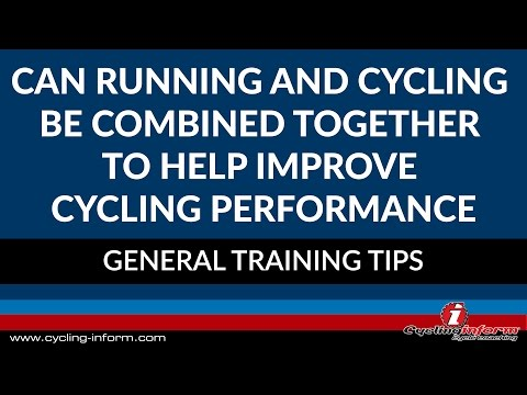 Can Running And Cycling Be Combined Together To Help Improve Cycling Performance?