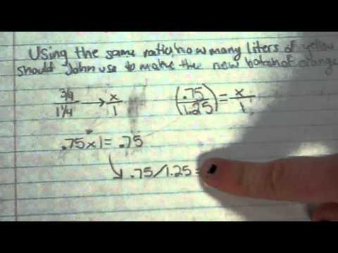 2012-2013 Released 7th Grade Math EOG Problem #8