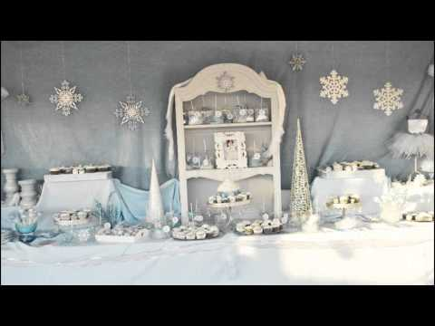 Stunning Winter wonderland birthday party ideas