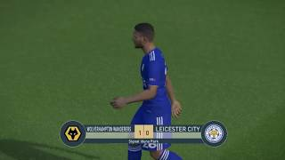 Wolves vs Leicester | All Goals | PES 2019 - Gameplay