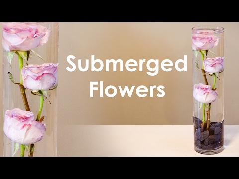 How To Create Submerged Flower Arrangement