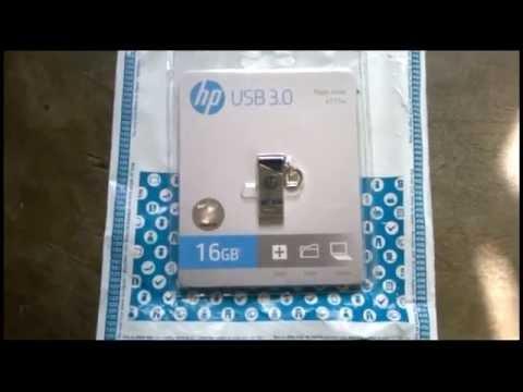HP X715W USB 3.0 16 GB Pen Drive (Silver) review   speed test