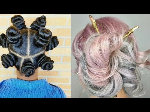 Top 10 CRAZY Hairstyles Compilation || Hair Transformations
