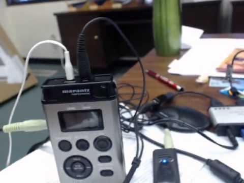 My Audio Setup w Marantz