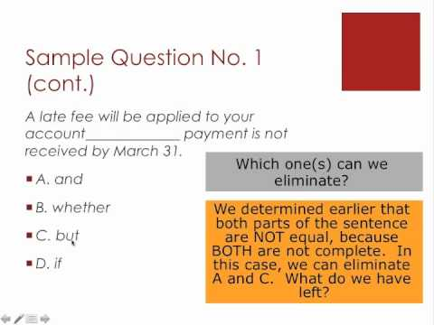 TOEIC Reading Skills Part I: Overview and Question Type 5: Incomplete Sentences