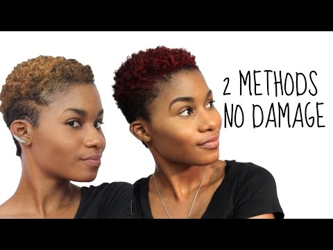 2 Easy Ways to Temporarily Color Your Hair with NO DAMAGE