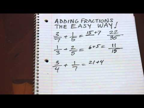 Cool Math Trick: Adding Fractions