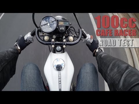 100cc Cafe Racer | 1st Ride and Road Test