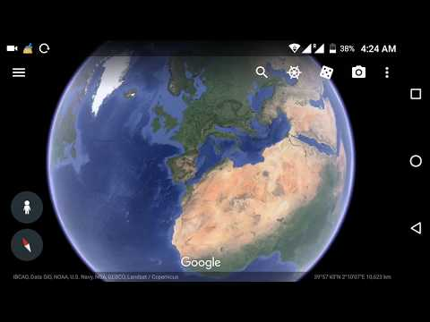 Google Earth live satellite map New updates