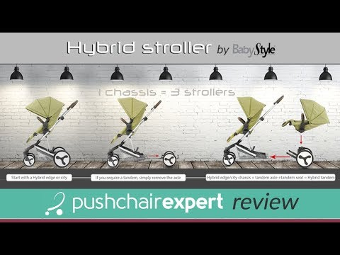 Hybrid Stroller 'Pushchair Expert' Review - Direct2Mum