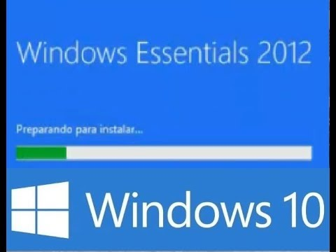 Windows Essentials 2012 para windows 10 instalacion y solucion al problema