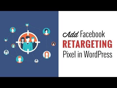 How to Install Facebook Remarketing Retargeting Pixel in WordPress