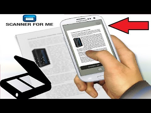 How to Used Android Phone as a Scanner Easily 2018