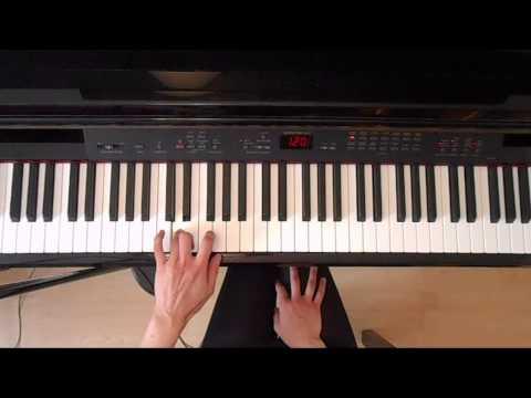 ABRSM grade 1 piano exam scales Piano tutorial ( slow demo)