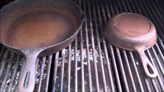 How To Strip Re Season Cast Iron Pans On The Grill