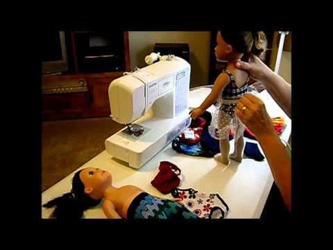 How to Make Doll Leotards Part 1