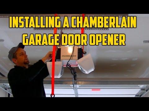 Installing a Chamberlain Garage Door Opener