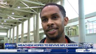 Robert Meachem hopes to revive NFL career after Tennessee Pro Day