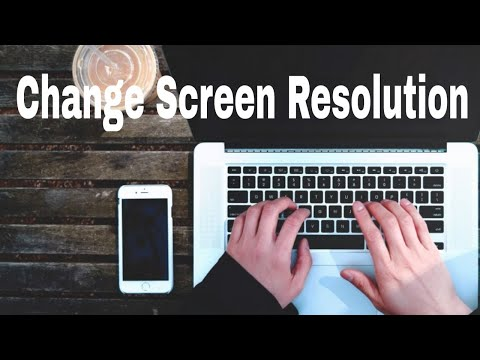 How to change Screen Resolution & Display settings in Windows 10