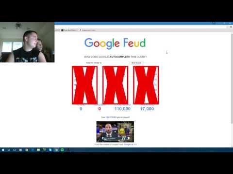 The Wonders of Google Feud!!
