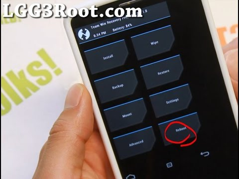 How to Install CWM or TWRP Recovery on LG G3! - PakVim net