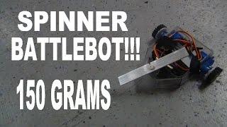 How To Make A 150 Gram Spinner Battlebot!!!