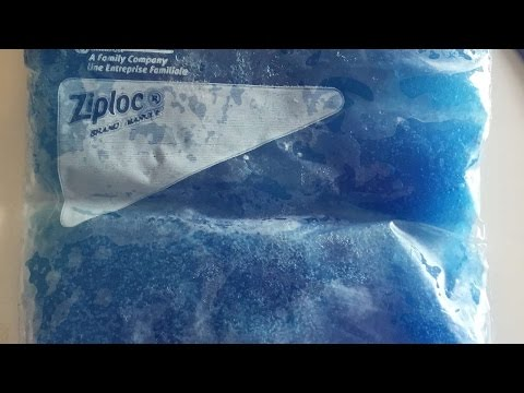 How To Homemade Gel Ice Pack - DIY Crafts Tutorial - Guidecentral
