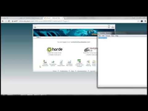 WEB HOSTING Tutorials Malayalam - Creating Branded Emails in Cpanel