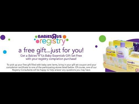 BABY FREEBIES - Babies 'R' Us Registry Gift Bag