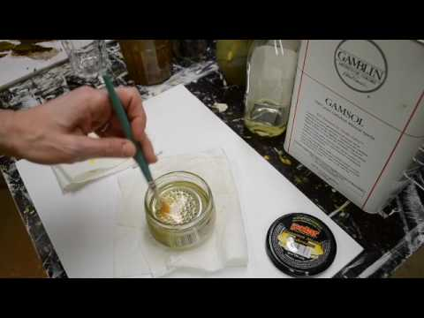 How to Clean Your Oil Painting Brushes