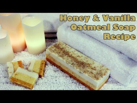 Luxurious Honey and Vanilla Oatmeal Soap DIY Recipe
