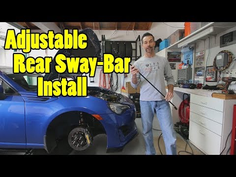 The Best BRZ Rear Sway-Bar?