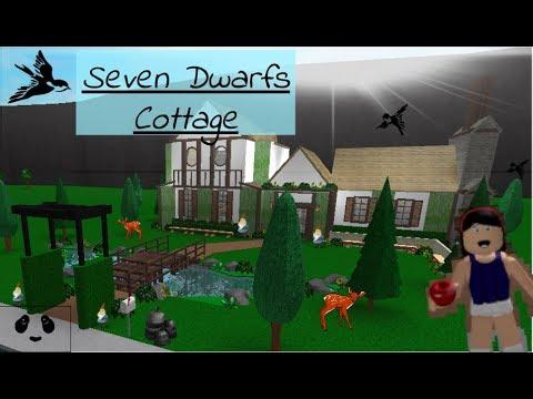 Seven Dwarfs Cottage: ROBLOX | Welcome to Bloxburg - Speedbuild