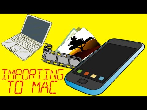 How To Import Images And Video To A Macintosh Computer From An Apple iTouch or iPhone