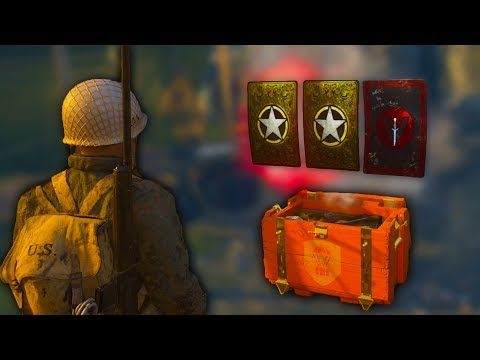 NEW BLITZKRIEG SUPPLY DROP Opening - Call of Duty WW2 LIVE